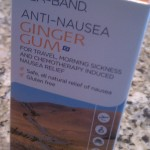 anti-nausea ginger gum morning sickness