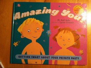 Amazing You kids' body book