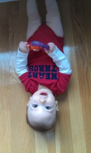 upside-down baby